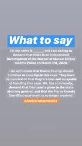 Graphic: Justice for Manuel Ellis Facebook page.