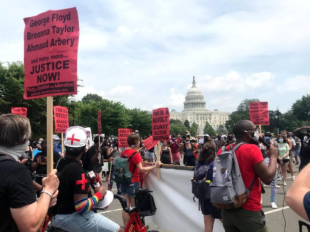 June 6, Washington DC. Liberation photo.